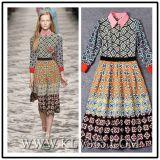 2016 Newest Fashion Flower Printing Women Summer Dress