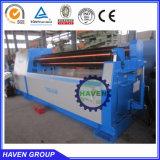 hydraulic 4 roller plate rolling machine W12S-6X3000