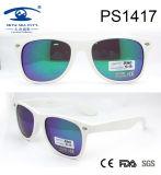 Beautiful Japanese White Frame Plastic Sunglasses (PS1417)