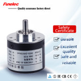 360PPR 5-24VDC NPN PNP Output Solid Shaft Incremental Rotary Encoder