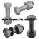Hex Bolt Construction Bolt High Tensile Bolt A193 B7 Bolt Grade12.9 Bolt Heavy Bolt