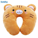 Custom Plush Stuffed Animal Travel Neck Pillow Soft Toy Neck Cushion
