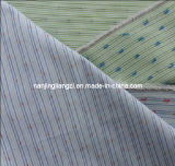 Cotton Yarn Dyed Stripe Dobby with Clip Fabric (LZ942)