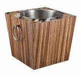 Custom Wood Case for Ice Bucket