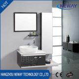 Classic Steel Ceramic Basin Bathroom Washbasin Cabinet