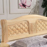 Solid Wooden Bed Modern Double Beds (M-X2234)