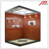 Home Elevator with Hairline Stainless Steel Machine Roomless