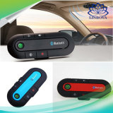 V4.1 Multipoint Bluetooth Handsfree Car Kit Visor Clip Speakerphone with Chinese English French Spanish 4 Languages