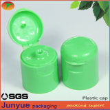 High Quality Smooth Non Spill Plastic Flip Top Shampoo Cap