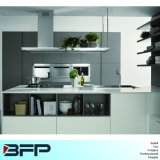 Elegent Grey Matt Lacquer Kitchen Cabinet for Project Blk-36