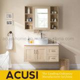 Wall Hang Wood Single Sink Waterproof Bathroom Vanity Combo (ACS1-W88)