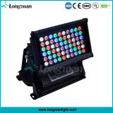 60*5W Rgbaw Outdoor High Power LED Light Wallwasher for Architecture