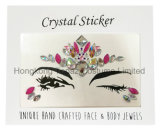 Hongkong Topaz Professional Skin Safe Party Eye Stickers White Studs Body Jewels Face Stickers (E16)