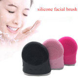Mini Rechargeable Facial Brush Cleaner Silicone Waterproof Ultrasonic Instrument Facial Skin Care SPA Massager Beauty Tool Device