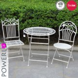 Iron Sheet Folding Outdoor Garden Bistro Set