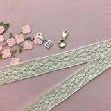 Wholesale High Quality 2.5cm Cotton Lace Trimming for Garment