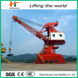 Steel Structure Shipyard Jib Portal Crane