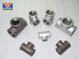 "Malleable Cast Iron Pipe Fittings\ 130, 130r Tee \3/8""-4"" (hot galvanized, electroplated, black finished)"