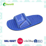 Men′s Slippers with EVA Sole and PVC Straps, Bright Color