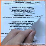 White Paper Sticker Care Label with Black Printings