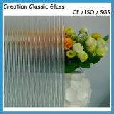 5mm Clear Patterned Glass/Rolled Glass/Figured Glass/Art Glass