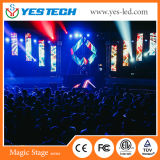 500*500mm/5.7kg Light LED Curtain Display with High Brightness