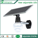LED 5-30 Watt Street Lamp with 360degree Adjustable Solar Panel