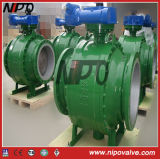 API 6D Metal to Metal Seat Trunnion Ball Valve