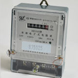 Anti-Tamper Register Display Single-Phase Electronic Kwh Meter