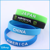 More Color Silicone Bracelet, New Fashion Bracelet, Silicone Wristband