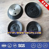 Black Rubber EPDM Long Head Suction Cup Foot with Screw Bolt
