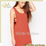 Custom Fashion Sexy Loose Fit Ladies Dress for Girls