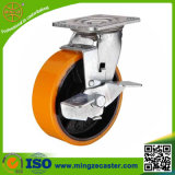 Cast Iron Polyurethane Industrial Heavy Duty Caster