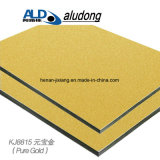 Ingot Gold/ Aluminum Composite Panel with Good Quality