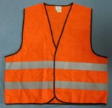 High Visibility Traffic Safety Vest Meeting En471 for Car Warning