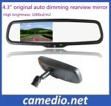 """4.3"""" Car Monitor with Auto Dimming Rearview Mirror"""