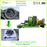 Dura-Shred Hot Selling Mobile Recycling Plant for Waste Tire (TSD2471)