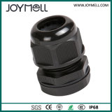 RoHS IP68 Waterproof Grey Black M18 Plastic Cable Gland