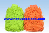 Microfiber Chenille Car Wash Cleaning Mitt Towel Wash Mitt (CN1401)