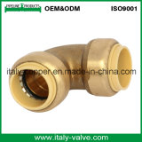 OEM&ODM Quality Brass Forged Push Fit Elbow (IC-1018)