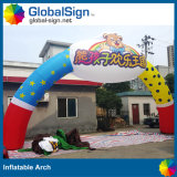 China Custom Design Promotion Archways Sport Events Printed Inflatable Arches