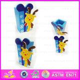 2015 New Arrivsl Kids Wooden Pen Vase, High End Mini Children Wooden Pen Holder Vase, Fashion Wooden Pen Container Vase Wj277935