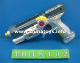 Hot Selling Power Game B/O Gun with Flsahlight (1038102)