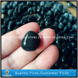 Wholesale Polished Black Pebble /Cobble Stone for Graden Stone