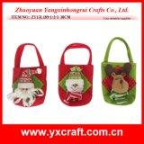 Christmas Decoration (ZY13L189-1-2-3 30CM) Christmas Children Bag