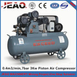 Hw4007 Reciprocating Industrial Air Compressor with Tank (3Kw, 4HP AC Power)