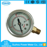 "1.5""40mm Stainless Steel Case Liquid Filled Pressure Gauge with Glycerin Oil"