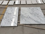 Bianco Carrara White Marble Wall/Flooring Tiles