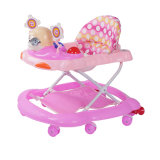 2017 Pink Color Round Baby Walker Wholesale
