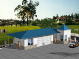 Fast Installation Prefabricated Home with Car Park